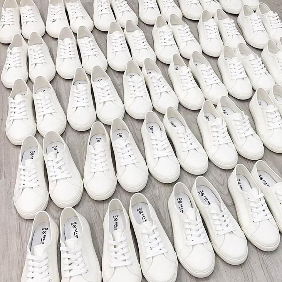 富發牌國民小白鞋