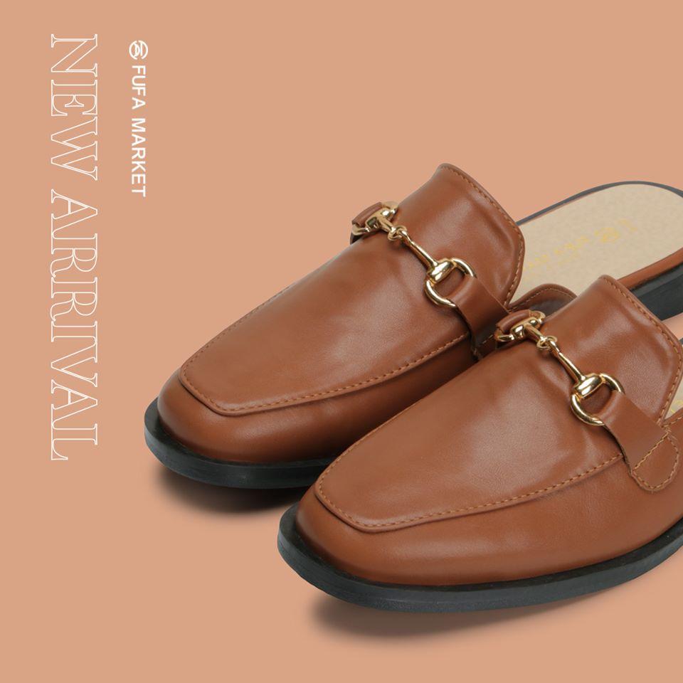 富發牌穆勒鞋女鞋