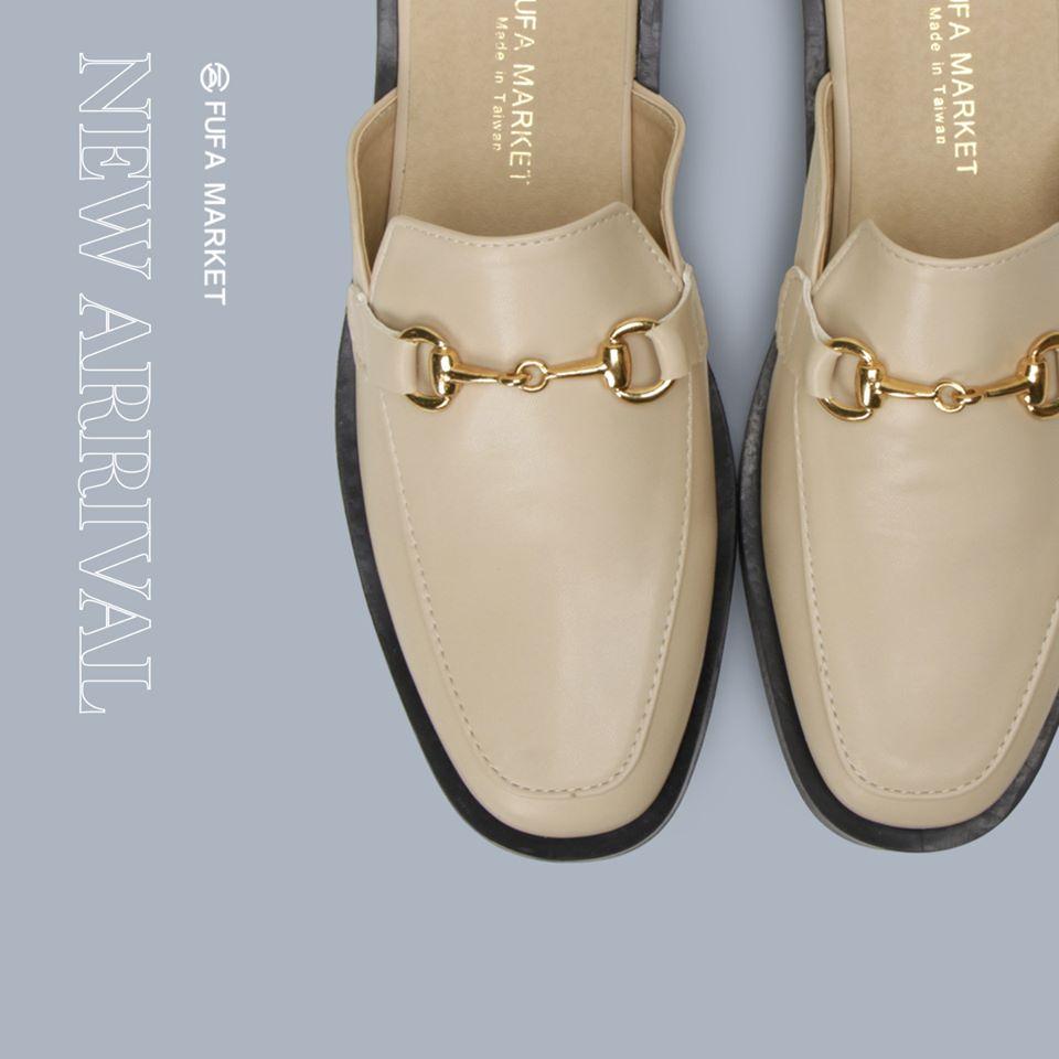 富發牌穆勒鞋女鞋平底鞋