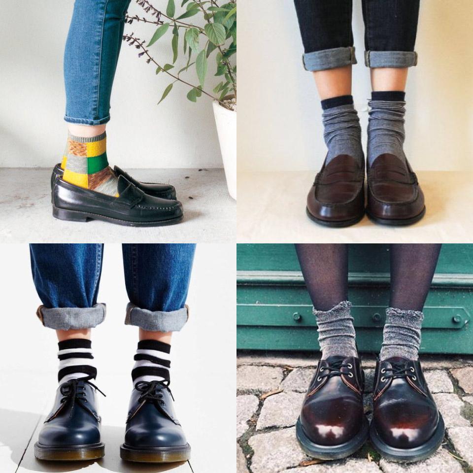 新鞋穿長襪