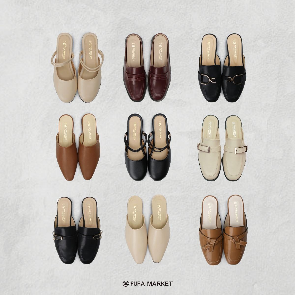 富發牌穆勒鞋