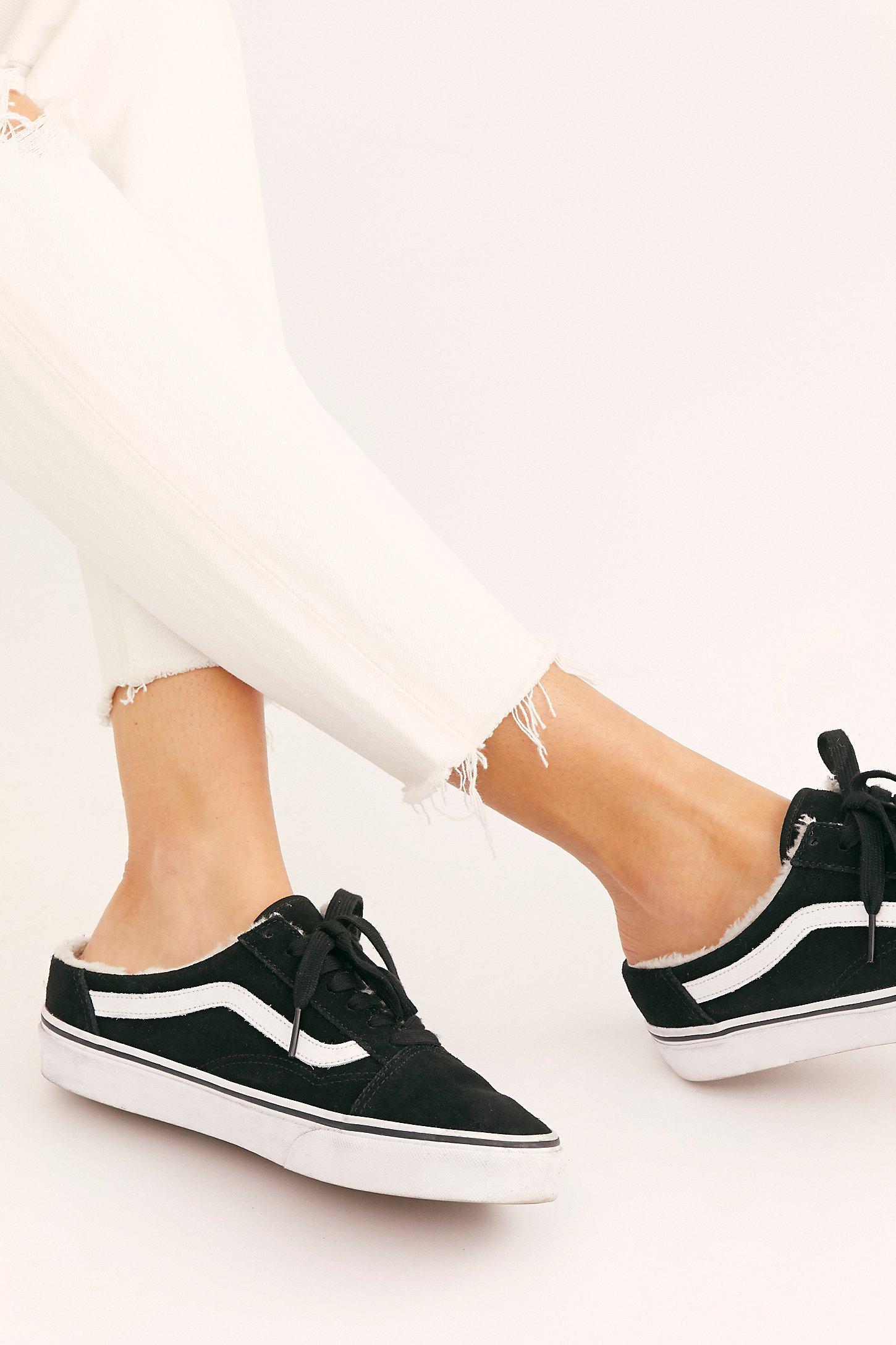 帆布穆勒鞋穿搭