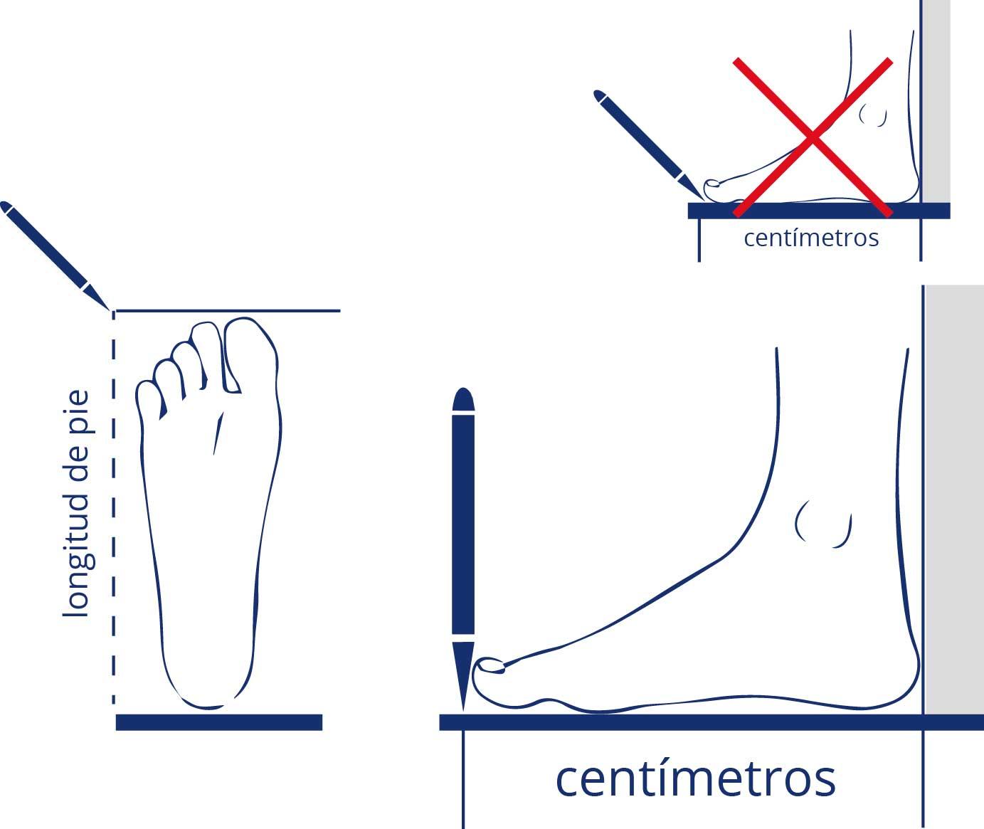 測量鞋子尺寸