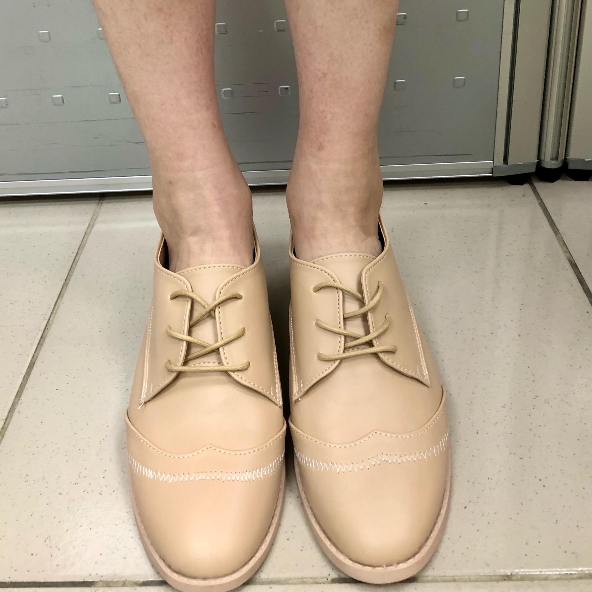 牛津鞋穿搭分享