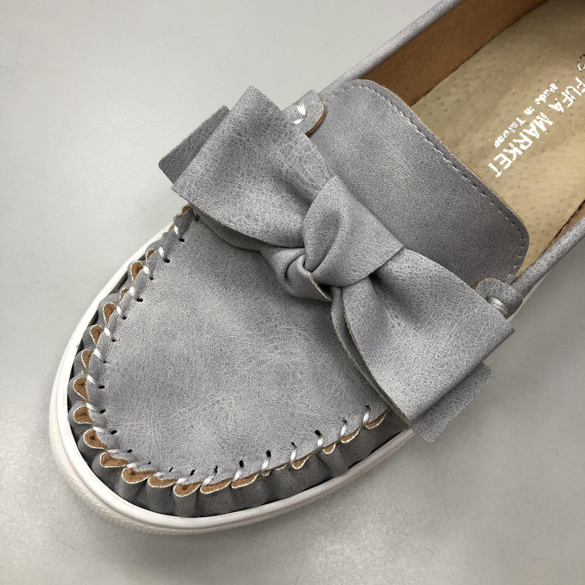 鞋子構造_豆豆鞋鞋面