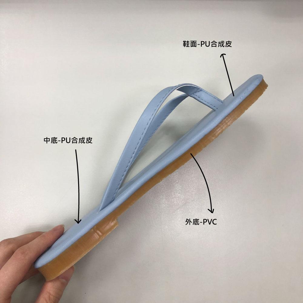 拖鞋構造與標示