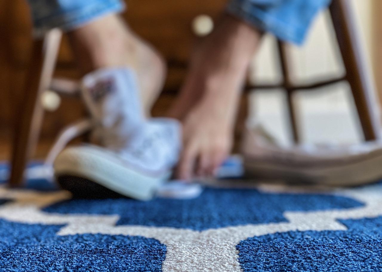 居家防疫不穿鞋
